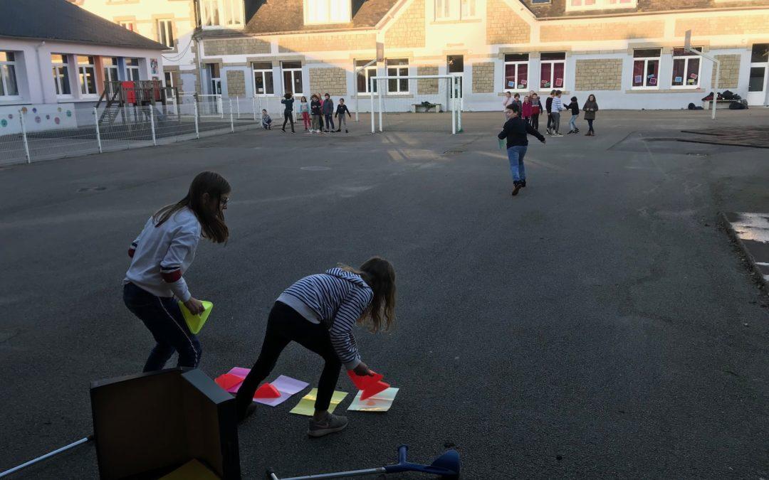 Jeux coopératifs en EPS
