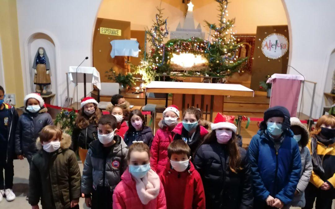 Noël à l'église Sainte Bernadette