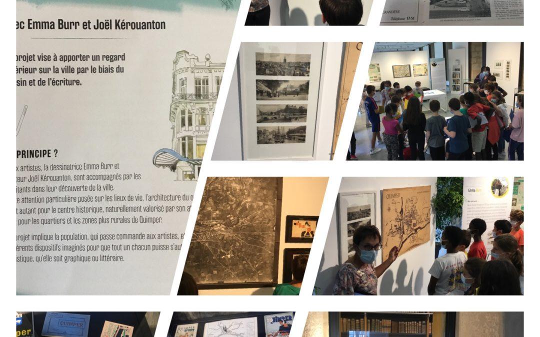 Visite de l'exposition «Dessiner-z la ville»