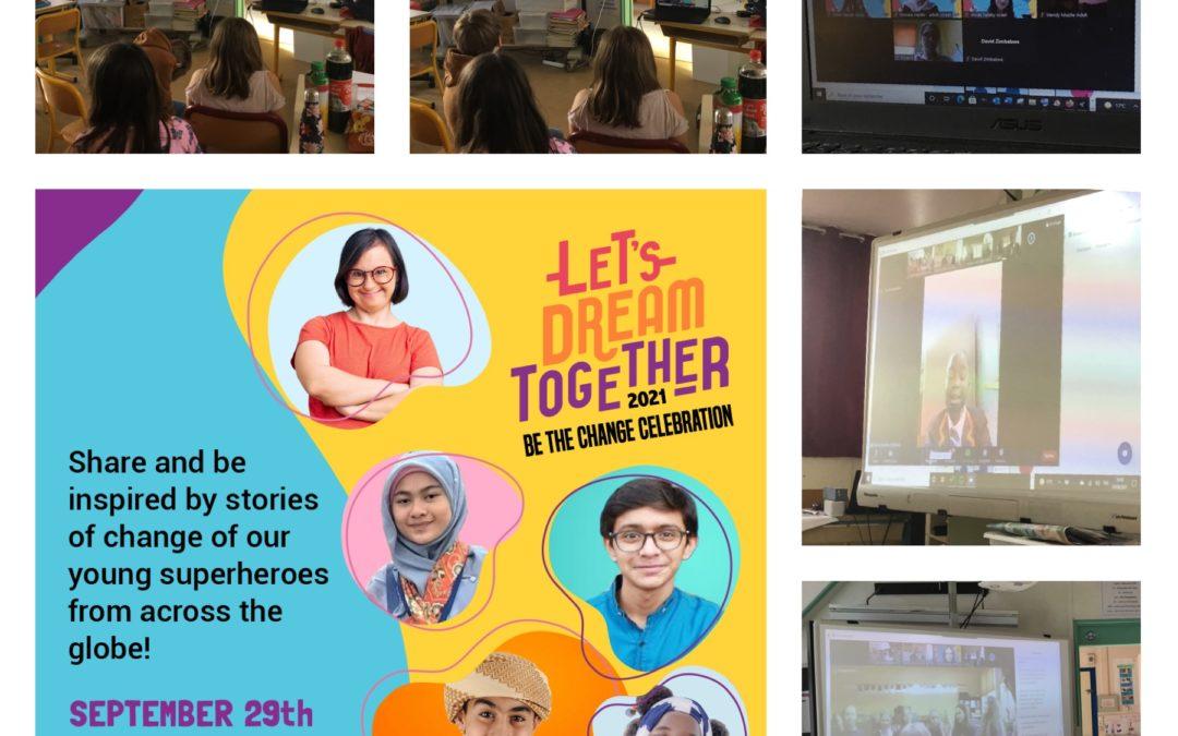 Rencontre avec des enfants du monde entier porteur du projet «Design for Change»